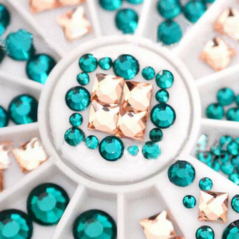 Bijoux Strass Cristal Glitter Résine Décoration 3D Tips Ongle Nail Art Manucure  Price : 1.00  Ends on :   Voir sur eBay   …