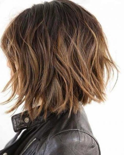 Choppy Cut For Thick Hair Source by tophairstyles2018   …