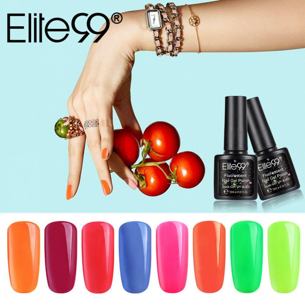Elite99 Vernis à Ongles Nail Gel Vernis Semi-Permanent Série fluorescence 10ML  Price : 2.99  Ends on :   Voir sur eBay   …