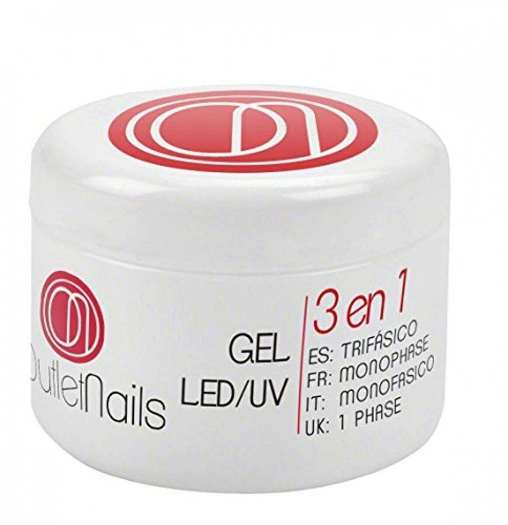 Gel UV 3 en 1 UV/Led Monophase 50ml / 3en1 gel ongles = Base + Construction + Fi  Price : 21.68  Ends on :   Voir sur eBay   …