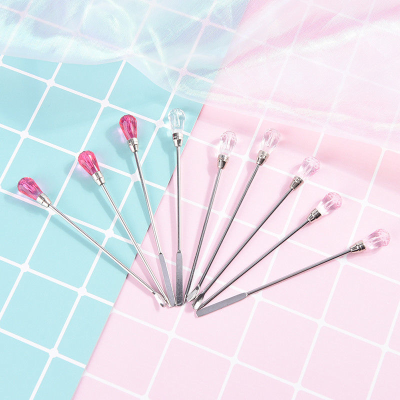 Ongles spatule en acier inoxydable agitation mélange gel Rod gel CQ  Price : 1.00  Ends on :   Voir sur eBay   …