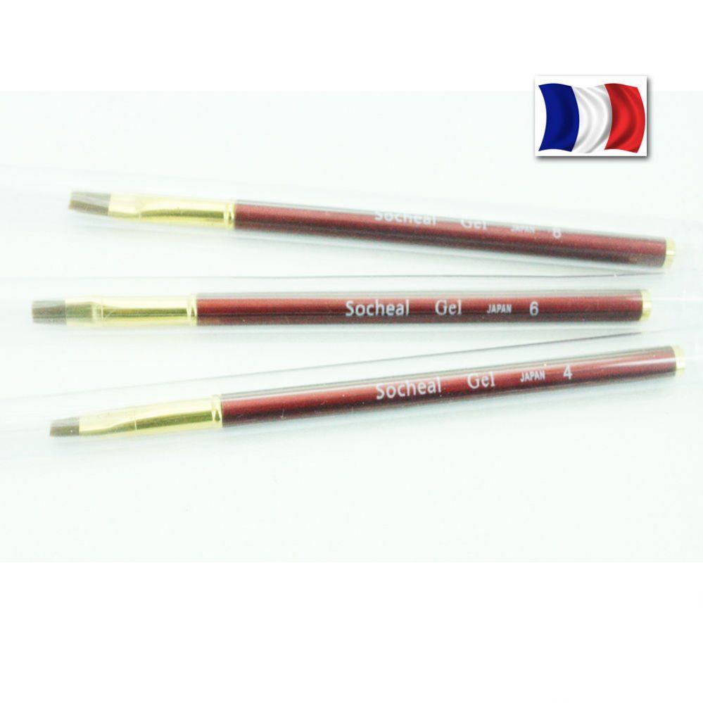 Pinceau Gel UV Neuf N°4,6,8 Brosse Ongles Dessin Manucure Nail Art Pro  Price : 2.70  Ends on :   Voir sur eBay   …