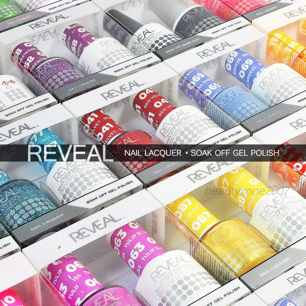 Reveal Vernis Gel & Vernis à Ongles Compatible Duo Tremper Choisir N'Importe One  Price : 8.90  Ends on :   Voir sur eBay   …