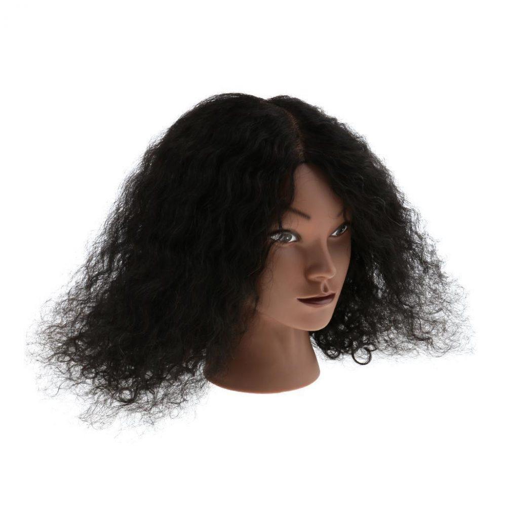 Tête d'Exercice Femme Afro à Coiffer Tête Manneque de Cosmétologie  Prix : 55.60  Termine le : 2019-03-26 14:19:53  Vu sur eBay  …
