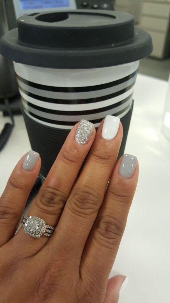 Winter Wedding Nails Ideas You'll Love #winternails #nailart #nailpolish #nailedit Source by kaitlinann25   …