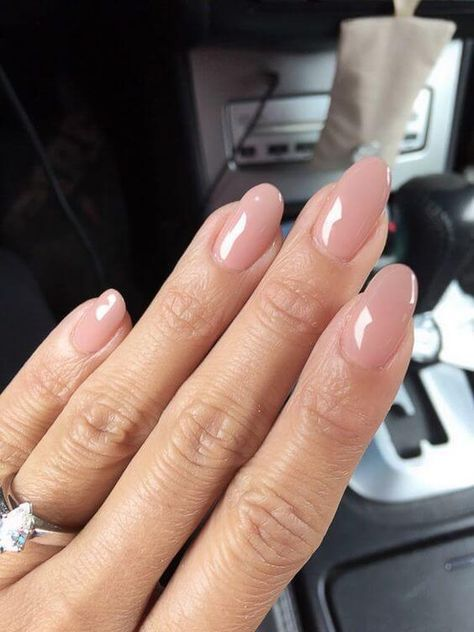 50 Reasons Shellac Nail Design Is The Manicure You Need Right Now -Jelly Sand Colored Almond Nails #shellac #shellacnail #naildesign #nailart Source by sophiewitkamp   …