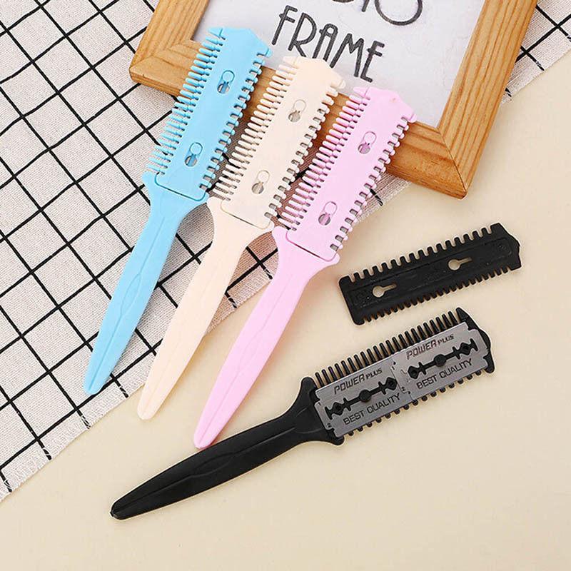 coiffure outil coiffeur ciseaux cheveux coupe style rasoir lame magique peigDI  Prix : 2.44  Termine le : 2019-09-04 09:22:56  Vu sur eBay  …