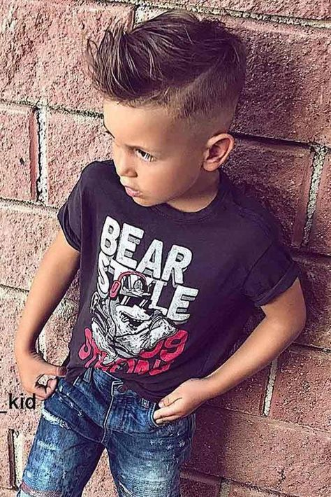 Trendy Boy Haircuts for Stylish Little Guys ★ See more: lovehairstyles.co…