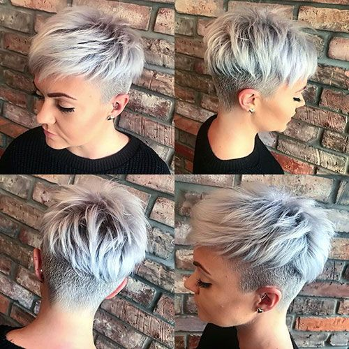Straight Layered Pixie Hair Source by aotrumpet   …