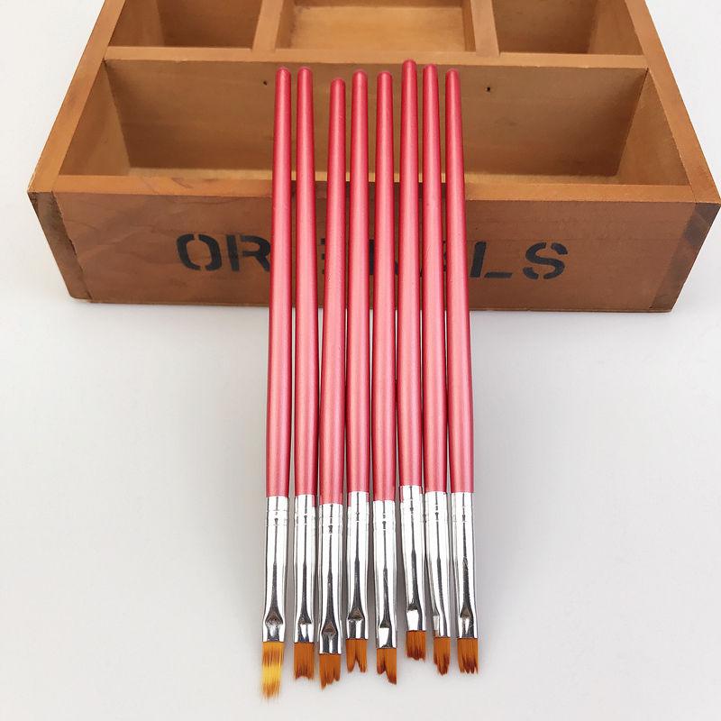 8pcs NailsBrosse Pinceau Pente Décoration Ongle Peinture Dessin Manucure Outils  Price : 4.99  Ends on :   Voir sur eBay   …