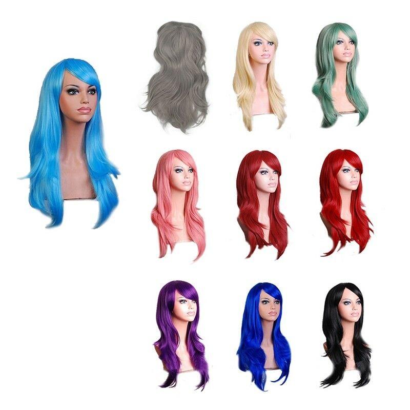 Perruques Bouclees de Cosplay pour les Femmes Avec Cheveux Long Boucles Pon W1C9  Prix : 9.67  Termine le : 2019-05-28 10:26:13  Vu sur eBay  …