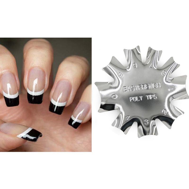 Style de Français Plate Nail Art Modèle ligne Manucure Outil d'Ongle Utile  Price : 1.26  Ends on :   Voir sur eBay   …
