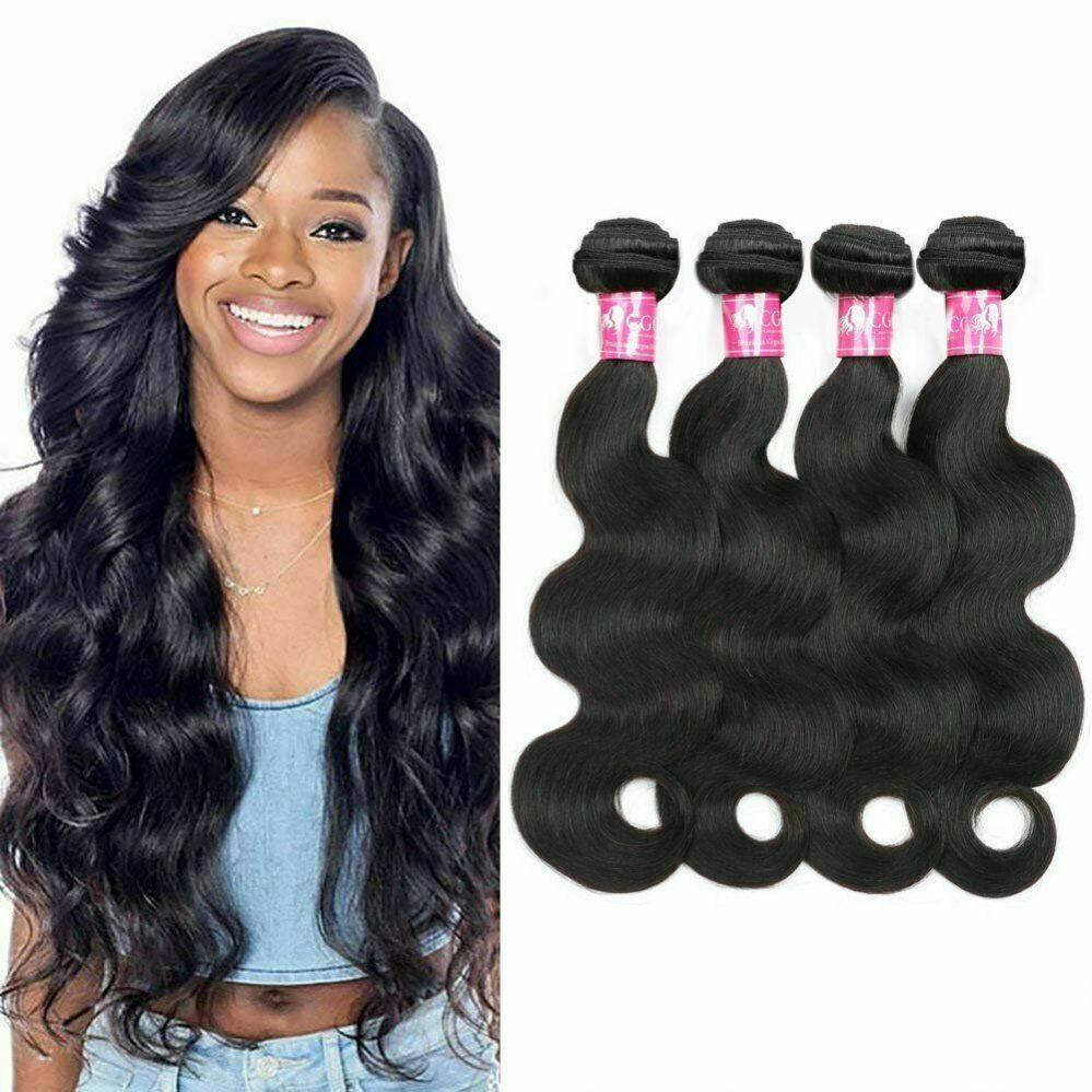 Tissage Brésilien 100% Naturel Ondulé Wave Virgin Hair 26CM-76CM 100G Noir  Prix : 40.01  Termine le : 2019-06-06 21:11:08  Vu sur eBay  …