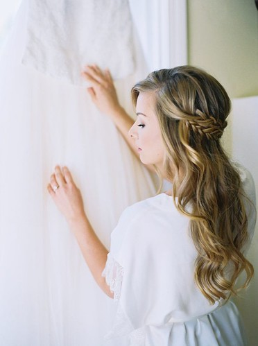 Coiffure De Mariage   Description   Featured Photographer: Kelsea Holder Photography; Wedding hairstyles ideas.      flashmode.be/coiffure-de-mariage-featured-photographer-ke… 