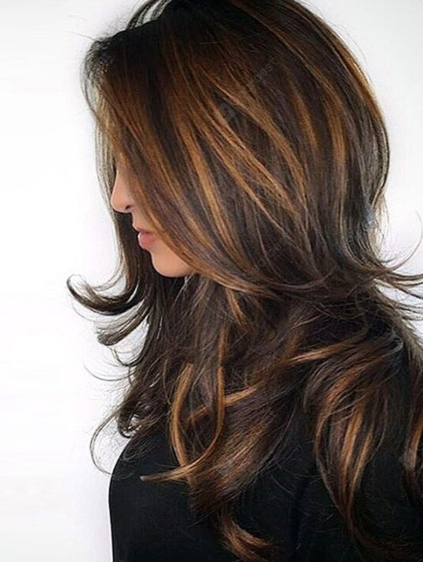 Long Side Bang Layered Natural Straight Colormix Synthetic Wig – Colormix 25 Source by Beglamorosa   …