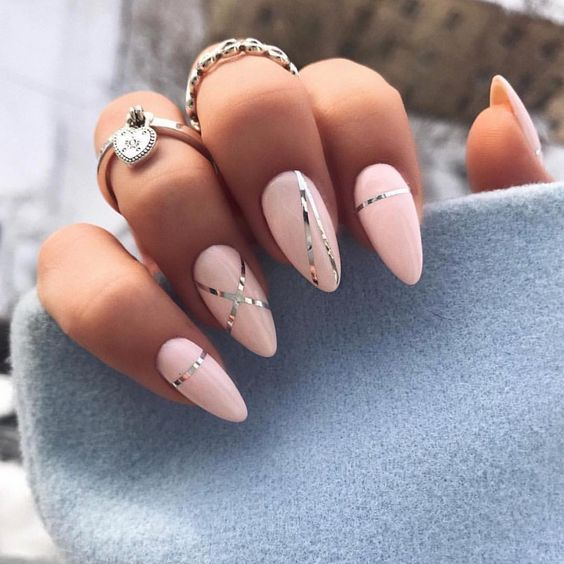 20 + elegante nail art-ontwerpen voor echte dames  #dames #echte #elegante #ontwerpen Source by heidi_bollen   …