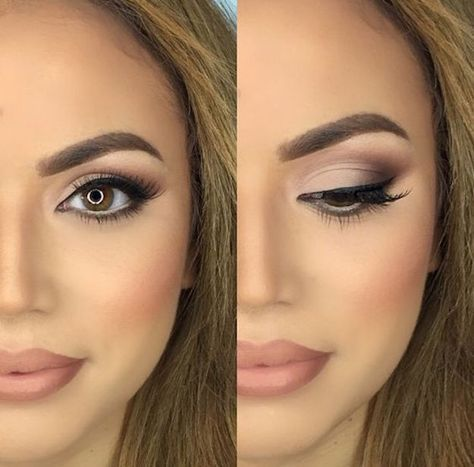 30 Wedding Makeup Ideas for Brides – Bridal Glam – Romantic make up ideas for the wedding – Natural and Airbrush techniques that look great with blue, green and brown eyes – rusti evening glow looks – thegoddess.com/wedding-makeup-for-brides Source by acswinkels   …