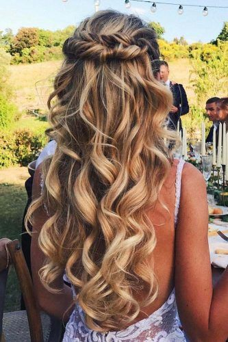 Wedding Hairstyles With Hair Down ★ See more: www.weddingforwar… Source by paigeas1   …