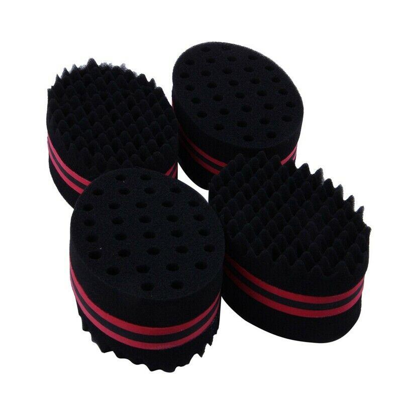 3X(Lot de 4 brosse a cheveux eponge Twist Vague Coiffeur Outil Pour Dreads Af U7  Prix : 11.99  Termine le : 2019-07-17 18:08:16  Vu sur eBay  …