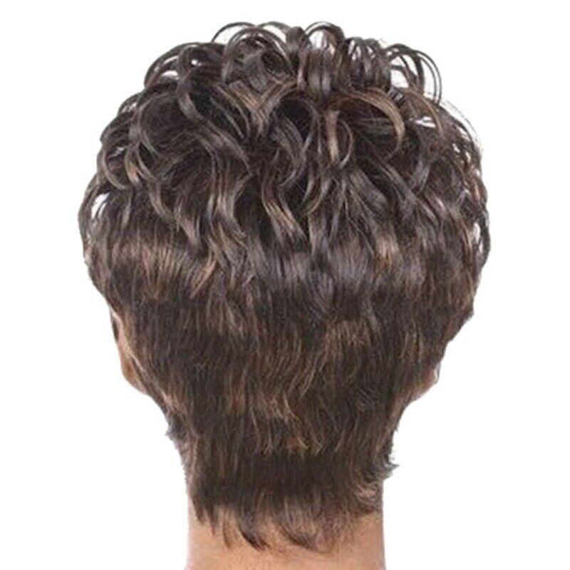 3X(Perruque Coiffure Courte Moelleux Cheveux Courts et Bouclés Perruque Dég G9T4  Prix : 16.93  Termine le : 2019-11-02 06:06:03  Vu sur eBay  …