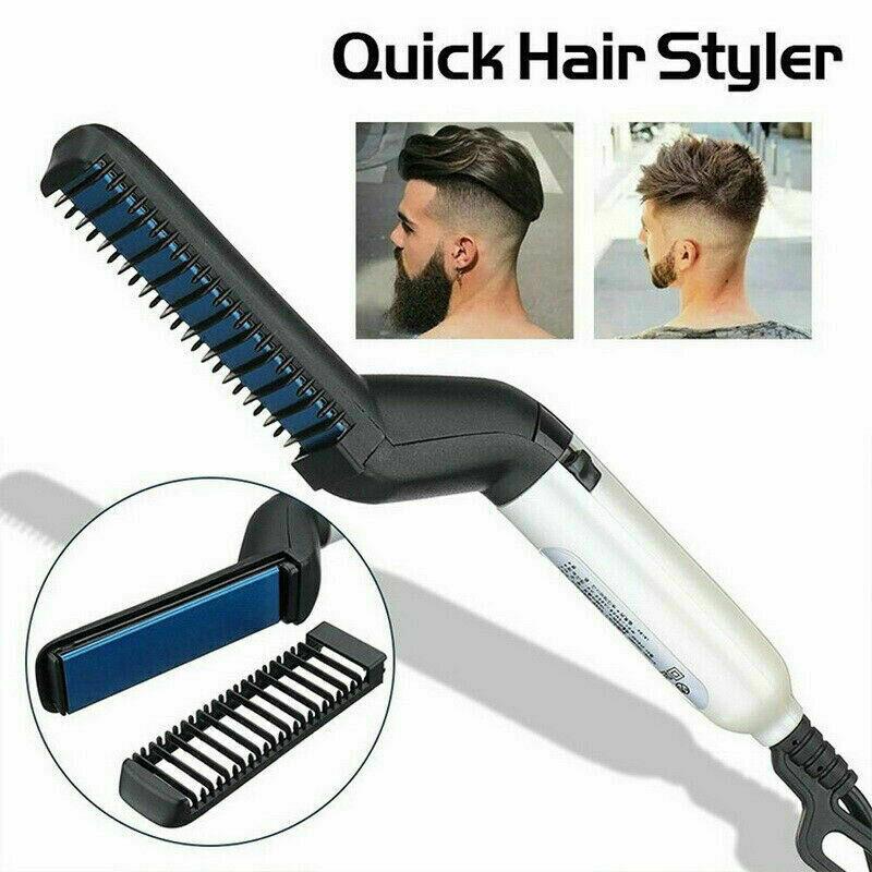Homme Rapide Styler pour Cheveux Friser Lisse Salon de Coiffure Peigne Hair Comb  Prix : 7.08  Termine le : 2019-07-31 07:21:56  Vu sur eBay  …
