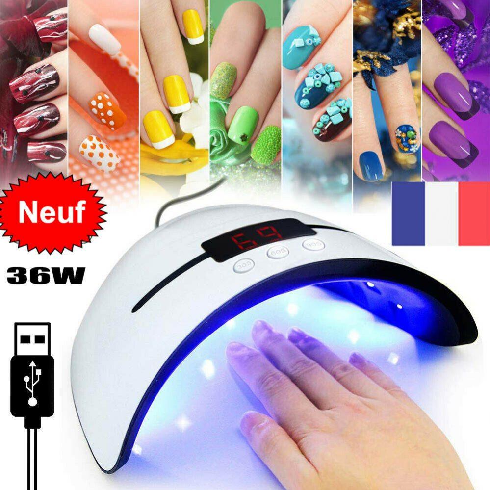 36W Portable USB Lampe UV Sèche Ongles Lampe ongles Sèche Séchage Gel Rapide FR  Price : 3.99  Ends on :   Voir sur eBay   …