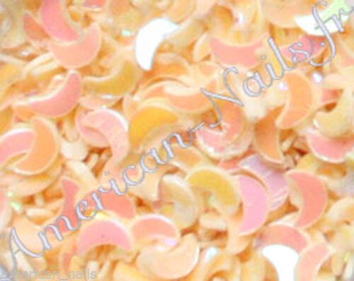 1 boite de paillettes LUNE Saumon bijoux déco ongles Nail Art  Price : 2.89  Ends on :   Voir sur eBay   …