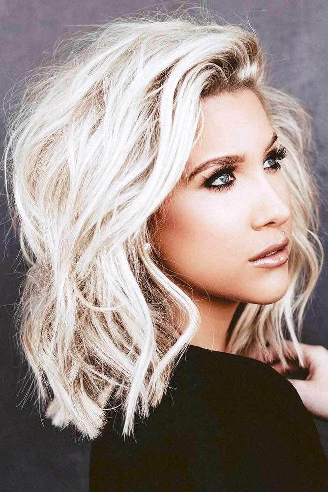 15 Gorgeous Hairstyles For Medium Hair #kort #haar #vrouw #stoer #2019 #kapsels  Source by geavoskuilen   …