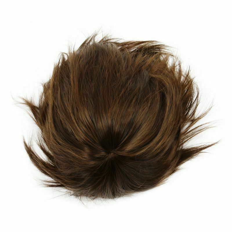 perruque pleine duveteux court boucle de la couleur brun clair pour les mes T1D4  Prix : 4.86  Termine le : 2019-09-19 03:28:16  Vu sur eBay  …