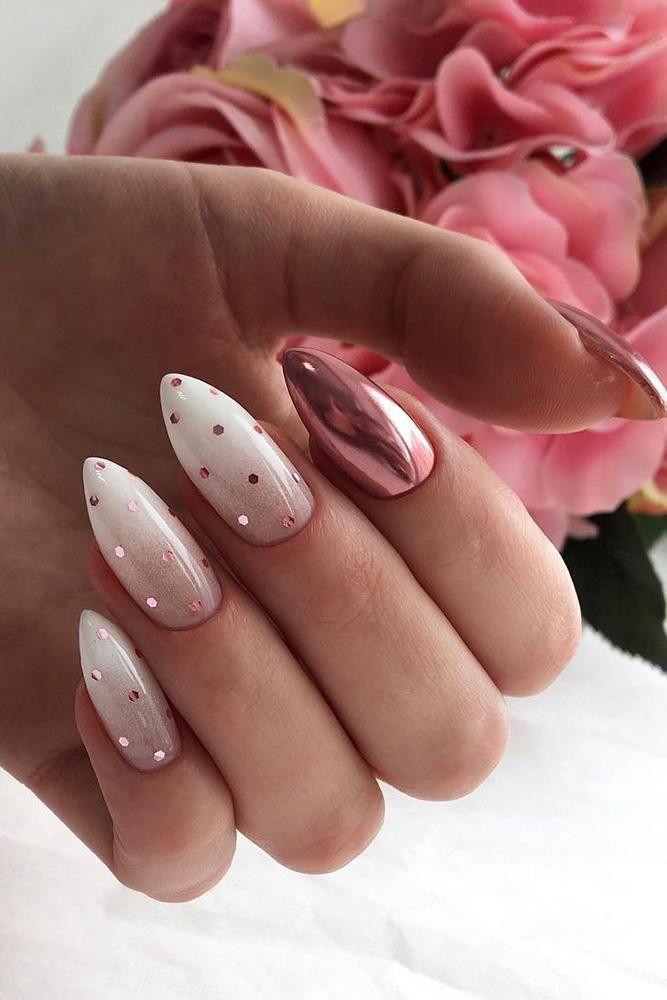 30 Cute Nail Design Ideas For Stylish Brides ❤ nail design wedding ombre with glitter decor deni_sova_nails #weddingforward #wedding #bride #weddingnails  Source by vlietrosannev   …