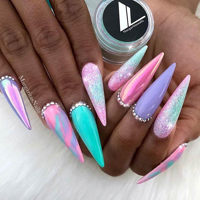35 Bright Neon Colors Ombre Nails Design #design #Luminous #nails #neonfar … – #Bright  Source by manuela19962018   …