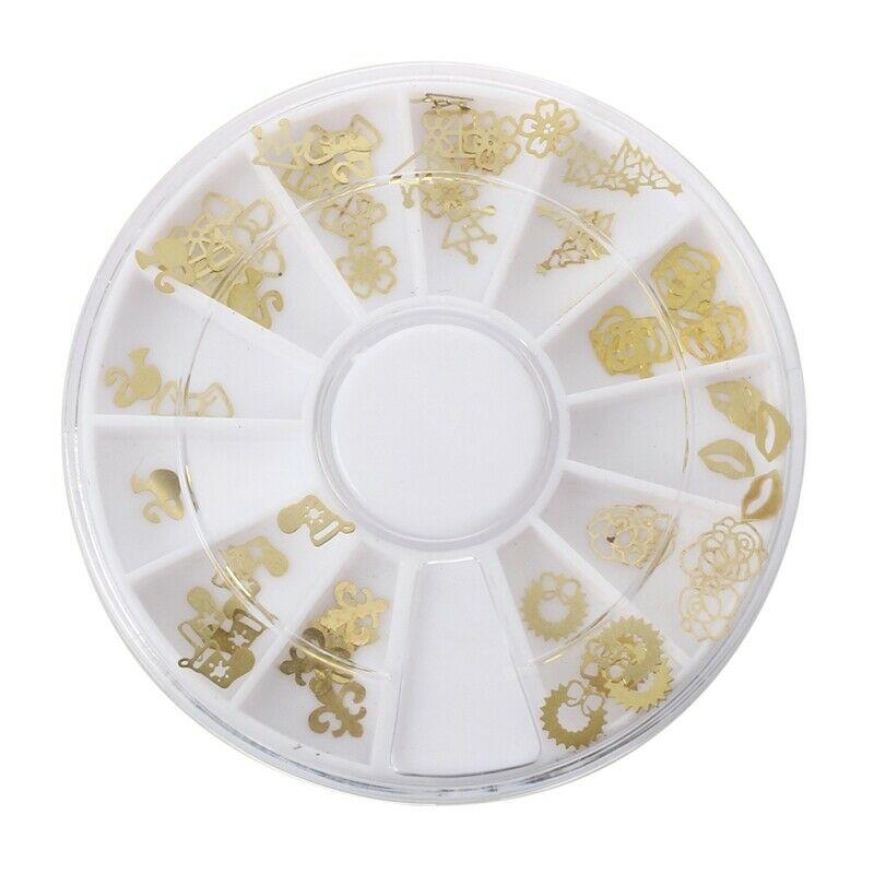3X(120PCS Paillette en Metal Deco pour Ongles Faux Naturels Gel UV + Boite U8X6)  Price : 2.46  Ends on :   Voir sur eBay   …