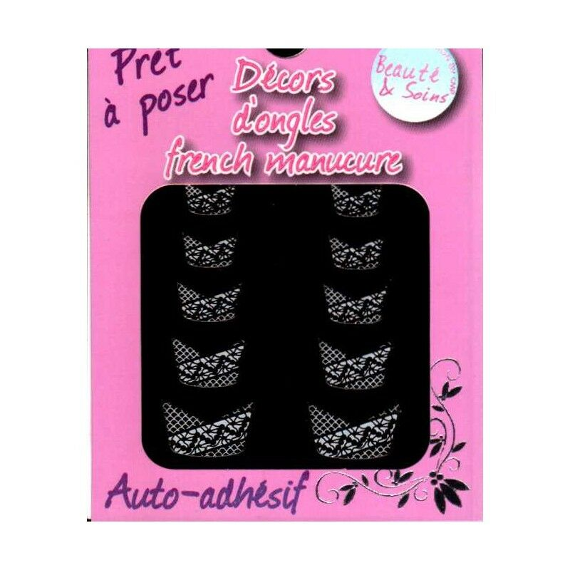 Décors Ongles Manucure 4  Ongle Stickers French Pose Nail Art  Price : 1.30  Ends on :   Voir sur eBay   …