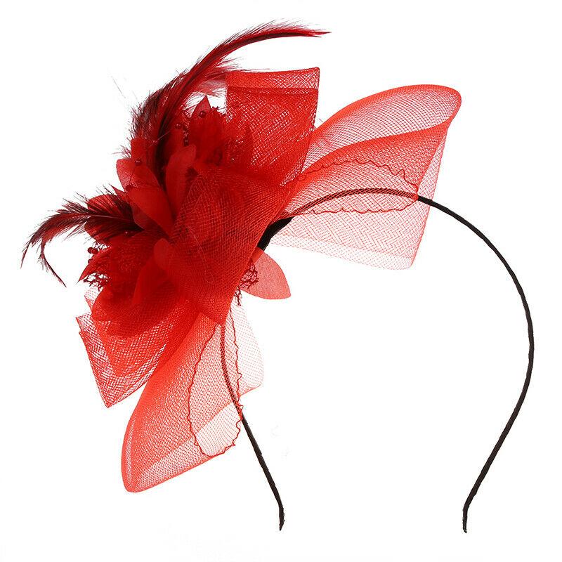 Serre Tete en Etoffe Gaze Fleur Rouge Deco Cheveux Coiffure Femme Mode U5J5  Prix : 2.98  Termine le : 2019-09-21 20:28:22  Vu sur eBay  …