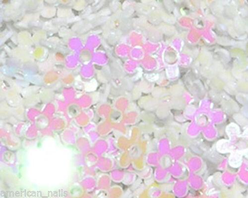1 boite de paillettes FLEUR MYOSOTIS Blanc Irisé Nail Art bijoux d'ongles   Price : 2.89  Ends on :   Voir sur eBay   …