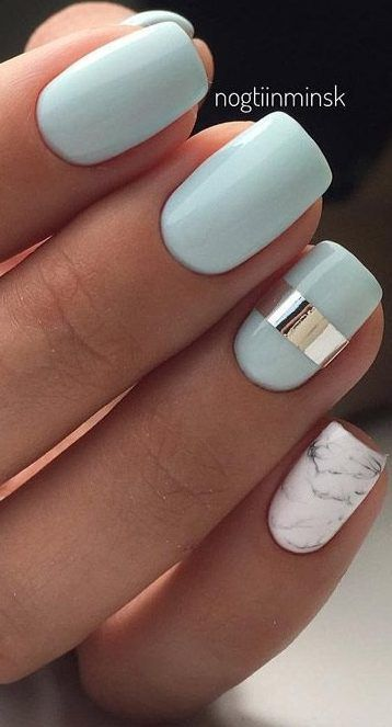 29 Summer Nail Designs That Are Trending for 2019, Summer Nail Designs Nail Design Ideas for the Summer & Summer manicure for 2019 Probably, there is no such person who would not love summer. We al…, Nail
