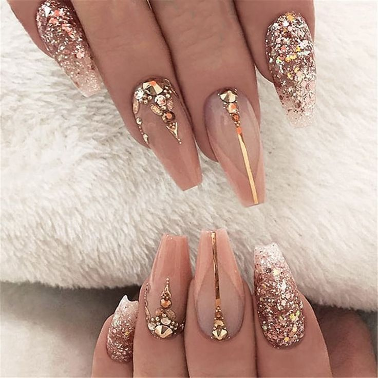 2019 hot fashion coffin nail Trend ideas, Long Coffin nails Inspirations; Nails acrylic; Nails Spring;#coffinnails Source by jamie23121997   …