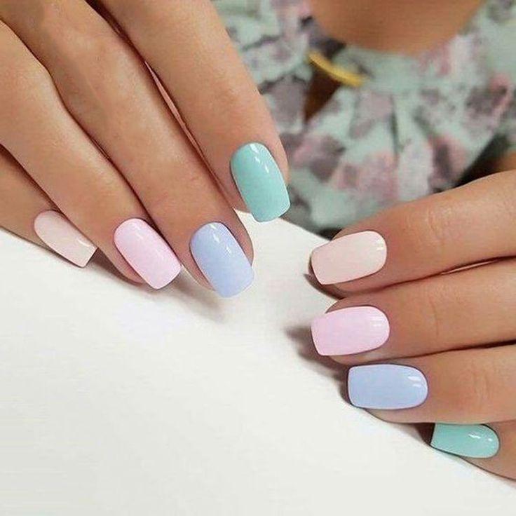 Easter nails Source by jonnaabk   …
