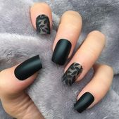 do you love black nails? click here to get 28 best Black Nail Designs For Glowing Beauty. you will get black nail designs with glitter, black nail designs acrylic etc. don't miss out! Source by iremyortanli   …