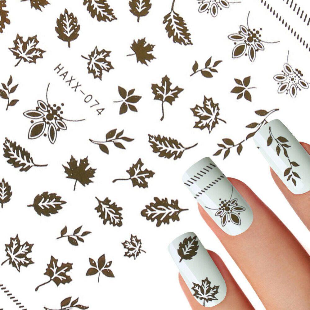 3D diy. Les ongles brillent. Liquidambar formosana Pale d 'automne dorée Ongle  Price : 1.00  Ends on :   Voir sur eBay   …