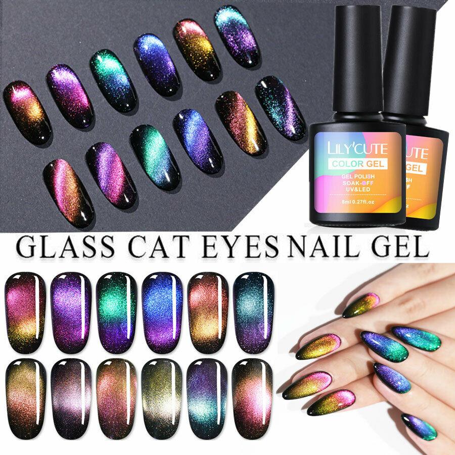 LILYCUTE Nail Art Vernis à Ongles Semi-permanent UV Gel Cateye Magnetic Polish  Price : 2.59  Ends on :   Voir sur eBay   …