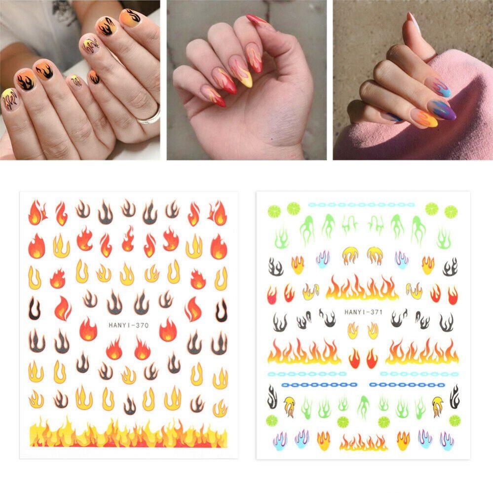 laser Art decoration Papier à ongles flamboyant Holographique Creux Autocollant  Price : 1.00  Ends on :   Voir sur eBay   …