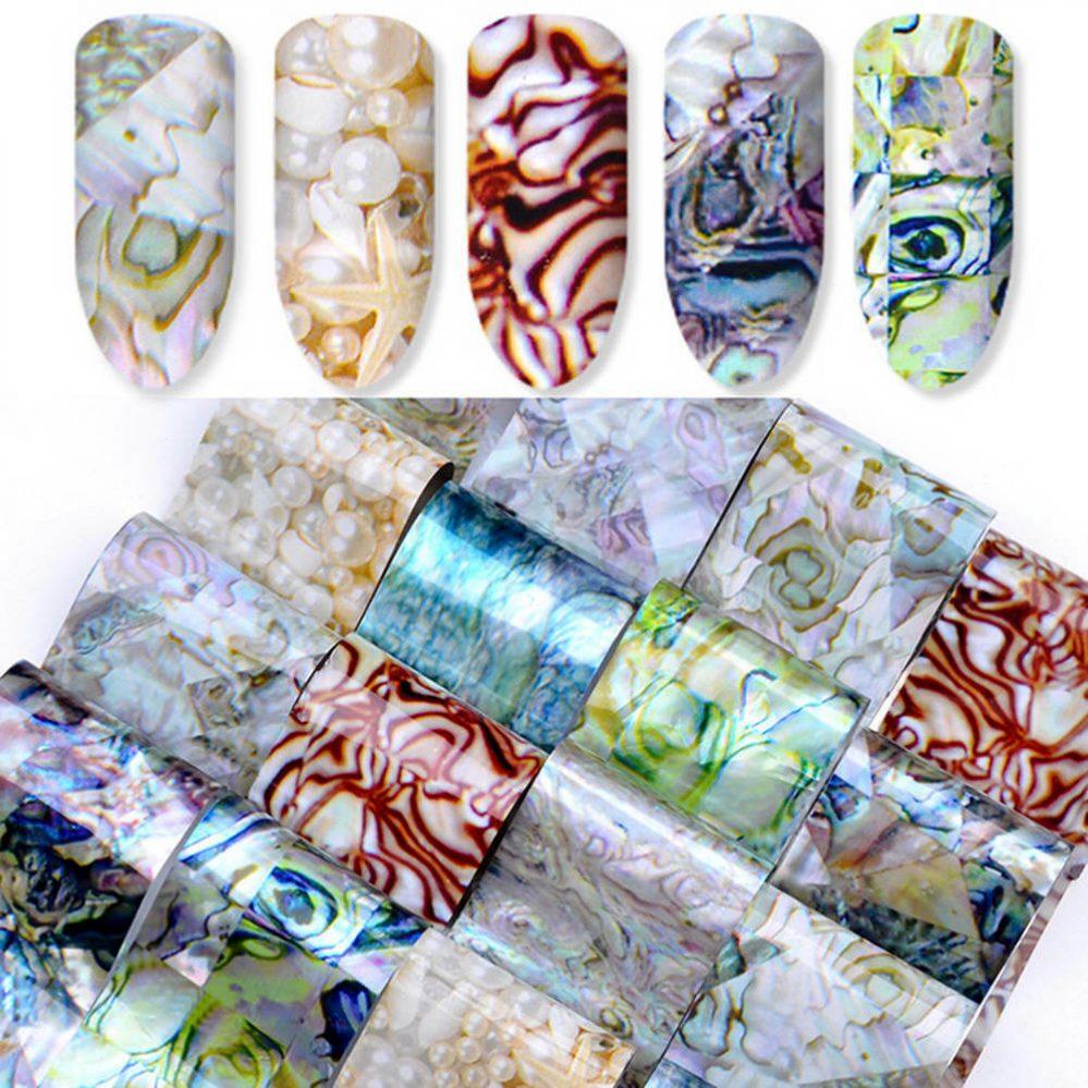 16pcs / Stickers de transfert des ongles Nail holographiques FOILS gradient_fr  Price : 1.00  Ends on :   Voir sur eBay   …