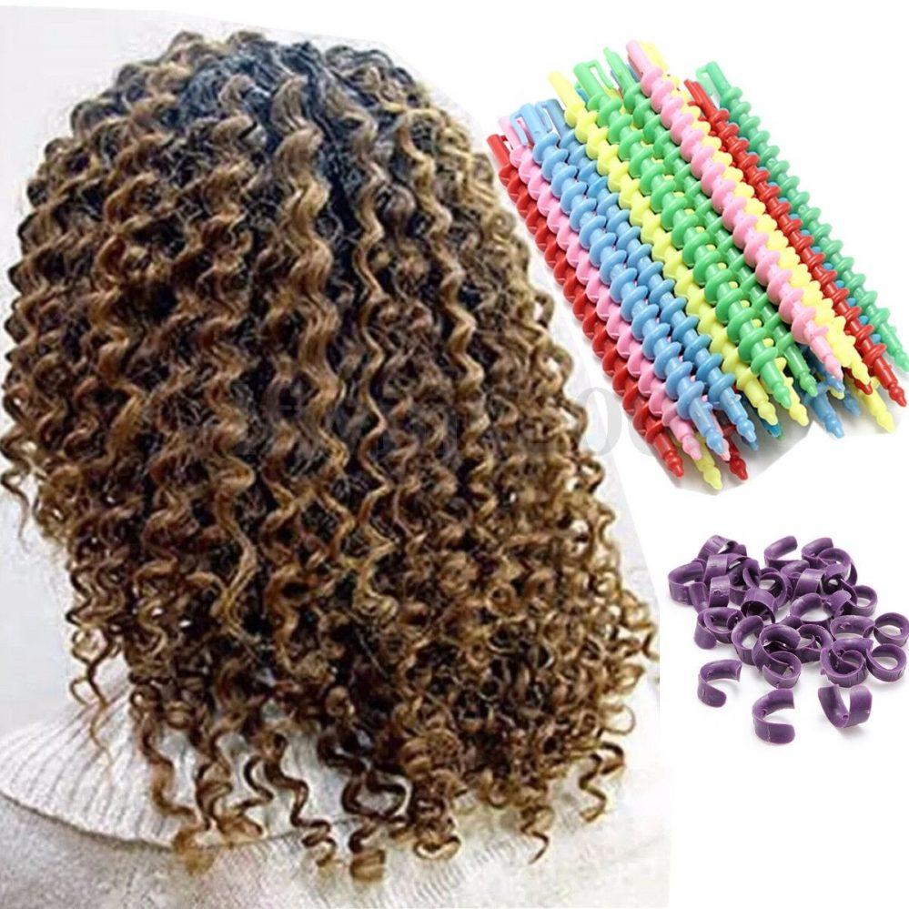 25Pcs Magic Rouleaux Bigoudi Cheveux Spirale Coiffure Curler Friser Twist    Prix : 8.99  Termine le : 2020-01-19 02:20:04  Vu sur eBay  …
