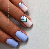 Fashionable Matte Blue Nail Art Designs For Summer❤ 36 Summer Nail Art Ideas You'll Wish To Try ❤ See more ideas on our blog!!! #naildesignsjournal #nails #naildesigns Source by aackermans1538   …