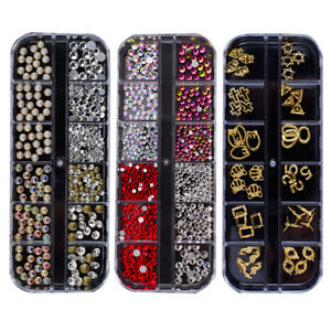 Sn _ Paillettes 3D Art Ongles Strass Séché Fleurs Jewelries Gemmes Perles Déc  Price : 2.06  Ends on :   Voir sur eBay   …