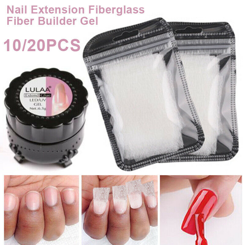 10 / 20pcs Extension Ongle Manicure  Tips Fibre De Verre Nail Art Non-tissé  Price : 2.38  Ends on :   Voir sur eBay   …