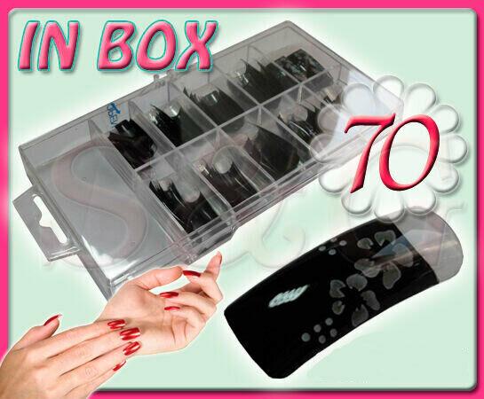 Belles Tip Tips Mains Ornées en Boîte Reconstruction Ongles Gel UV Nail Art .  Price : 9.00  Ends on :   Voir sur eBay   …