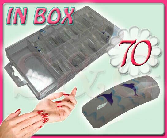 Belles Tip Tips Mains Ornées en Boîte Reconstruction Ongles Gel UV Nail Art  Price : 9.00  Ends on :   Voir sur eBay   …