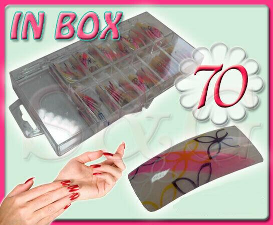 Belles Tip Tips Mains Ornées en Boîte Reconstruction Ongles Gel UV Nail Art Déco  Price : 9.00  Ends on :   Voir sur eBay   …